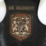 The title vest worn by Mr. Regiment 2012.