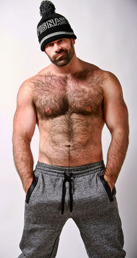 A model wears Nasty Pig apparel
